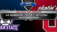 2013 ACHA WEST REGIONALS GAME 6: #4 WSU VS #7 UTAH