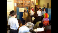 Grade 1-2 Purim Shpiel! mmscdayschool recorded live on 2/25/13 at 3:14 PM PST