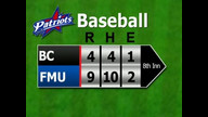 FMU Baseball vs Benedict (pt2)