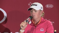 Stacy Lewis Pre-Tournament Interview from the 2013 Kia Classic