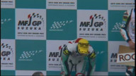 第9戦鈴鹿MFJ-GP J-GP3 表彰式