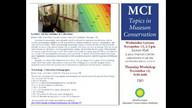 Museum Conservation Institute: Collections Demography Colloquium Pt. 3 of 4