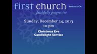 Dec 24, 2013 • Candle Light Service • Patricia de Jong