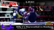 Billy C's Mayweather vs Maidana  Fight Night Speci