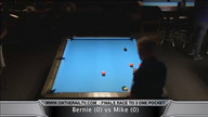 Pettipiece vs Dickinson - Race to 3 One Pocket Finals Part 1