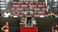 Mayweather/Mosley Boxing Press Conference