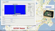 OZ7IGY beacon with GNU Radio, USRP and WBX RF board