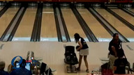Clara Guerrero bowls her first career 300 in match play at the Queens