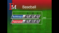 FMU Patriots Baseball vs Barton Game 1
