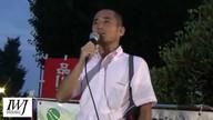 2015/07/24国会前希のエリア抗議行動1