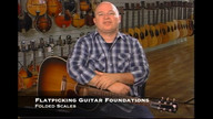 Flatpicking Guitar Foundations and Folded Scales