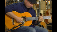 A smooth jazz nylon string guitar musical moment from Steve Krenz at Gruhn Guitars