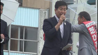 2016/06/24「参院選 民進党 三重選挙区 芝博一候補 街頭演説」