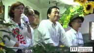 2016年7月9日大阪選挙区 日本共産党 わたなべ結候補「ラストデー HEP街宣」