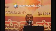 Mahabharata Sabhaparva anugraha Sandesha 21 chaturmasya @ Satti 14/08/2016