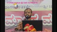 Mahabharata Sabhaparva Anugrahasandesha @ Satti 02/09/2016