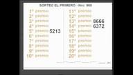 Quiniela El Primero de San Luis N° 968 -03-12-2016
