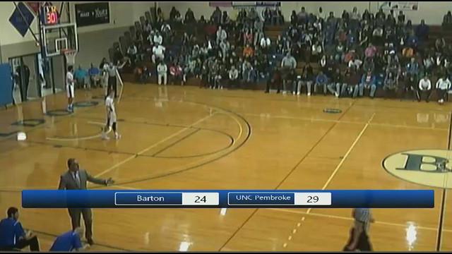 Barton Men's Basketball vs. UNC Pembroke, Barton College ...
