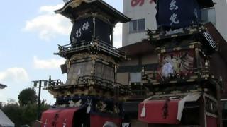 ネットで花見「犬山祭り」針綱神社前