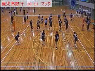 『第11回ミリオンカップ』鹿児島銀行vsマツダ