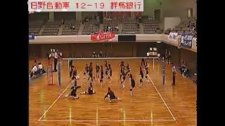 日野自動車vs群馬銀行(全日本実業団選手権)