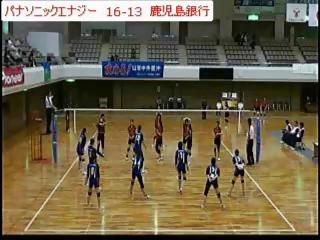 パナソニックエナジーvs鹿児島銀行 その1(全日本実業団選手権)