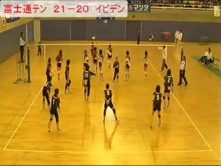 準決勝 富士通テンvsイビデン