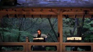 お月見コンサート(3)「能管の演奏」