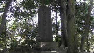 梶原忌前日2・羽黒城址磨墨塚