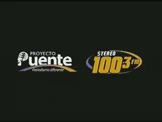 PROYECTO PUENTE STEREO 100.3  JUEVES 28 AGOSTO 2014