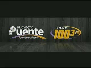 PROYECTO PUENTE STEREO 100.3 VIERNES 21 DE NOVIEMBRE, 2014