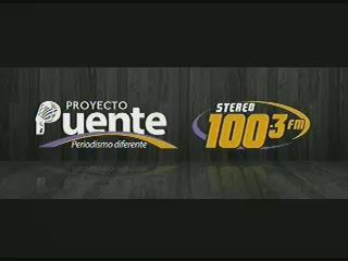 PROYECTO PUENTE STEREO 100.3 JUEVES 26 DE FEBRERO, 2015