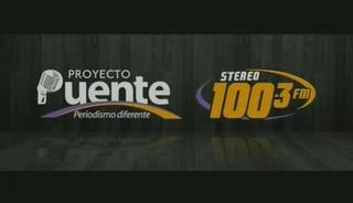 PROYECTO PUENTE STEREO 100.3 LUNES 27 DE JULIO, 2015 PARTE1