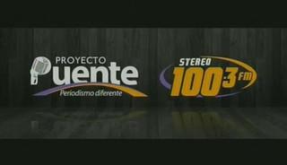 PROYECTO PUENTE STEREO 100.3, VIERNES 28 DE AGOSTO, 2015, PARTE 1