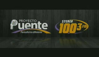 PROYECTO PUENTE STEREO 100.3 LUNES 31 AGOSTO, 2015 PARTE 1