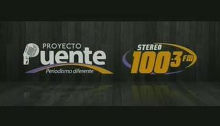 PROYECTO PUENTE STEREO 100.3 LUNES 16 DE NOVIEMBRE, 2015, PARTE 1